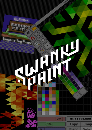 Swanky Paint poster